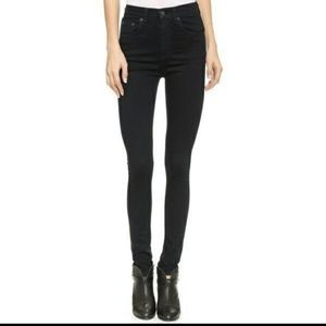 Back Rag&  Bone jeans high rise skinnies